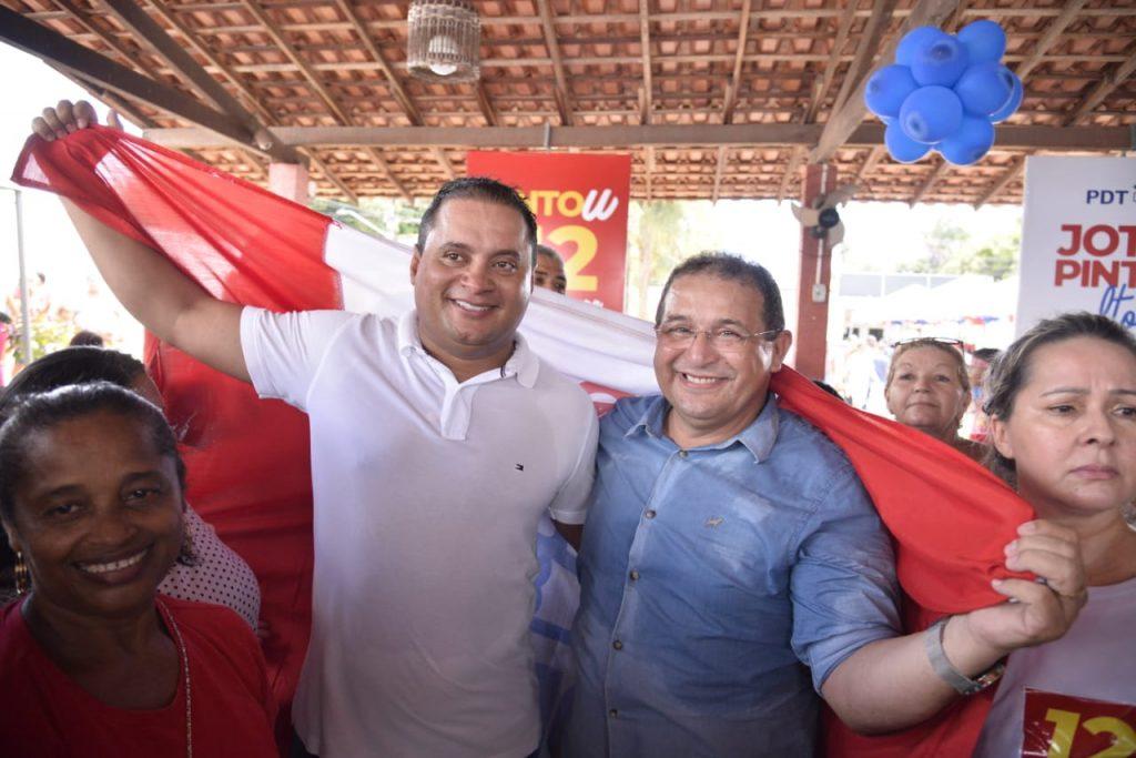 Em grande ato político, Weverton oficializa filiação de Jota Pinto ...
